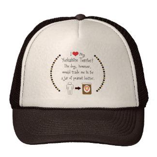 My Yorkshire Terrier Loves Peanut Butter Trucker Hat