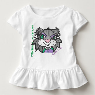 MYAH CAT & FRIENDZ featuring Myah Cat Ruffle Tee