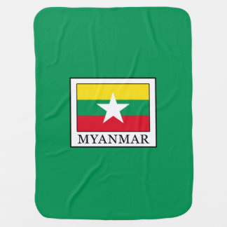 Myanmar Baby Blanket