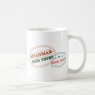 Myanmar Been There Done That Coffee Mug