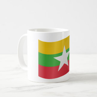 Myanmar Flag Coffee Mug