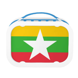 Myanmar Flag Lunch Box