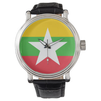 Myanmar Flag Watch