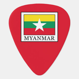 Myanmar Guitar Pick