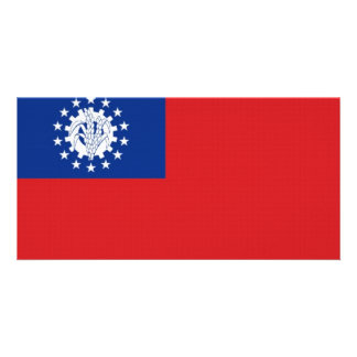 Myanmar National Flag Photo Cards