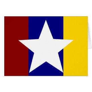 Myanmar Police, Myanmar flag Card