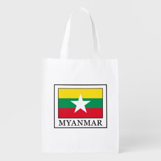 Myanmar Reusable Grocery Bag