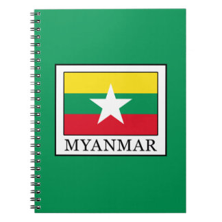 Myanmar Spiral Notebook
