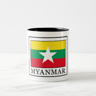 Myanmar Two-Tone Coffee Mug