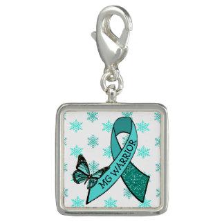 Myasthenia Gravis Awareness Bracelet Charm
