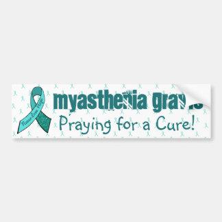 Myasthenia Gravis Awareness Bumper Sticker