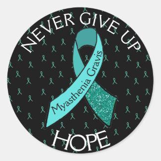 Myasthenia Gravis Never Give Up Hope Sticker