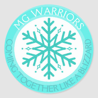 Myasthenia Gravis No Two Snowflakes sticker
