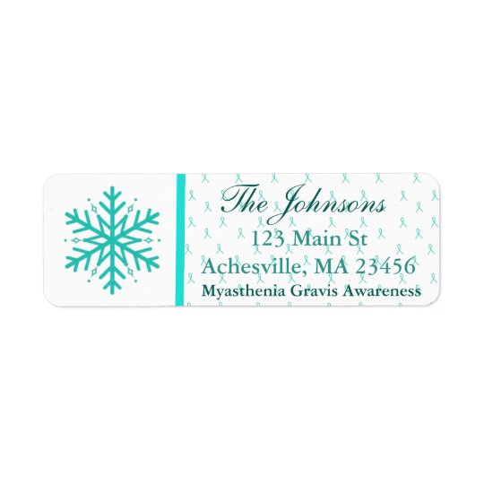 Myasthenia Gravis Return Address Labels