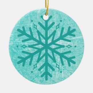 Myasthenia Gravis Snowflake Christmas  Ornament