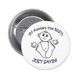 myauntie 6 cm round badge