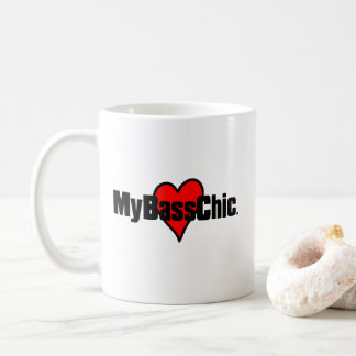 MyBassChic(tm) Crimson Heart Coffee Mug