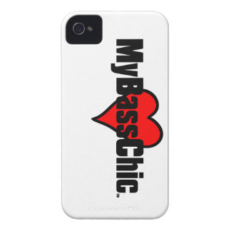 MyBassChic(tm) Crimson Heart iPhone 4 Case-Mate Case
