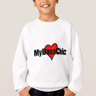MyBassChic(tm) Crimson Heart Sweatshirt