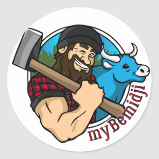 myBemidji Sticker Sheet