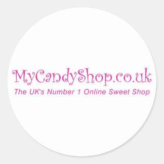 MyCandyShop.co.uk Sticker