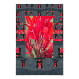Mycenaean Floral Art Print Photo Art