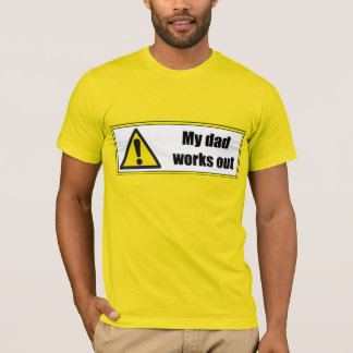 #mydad works out tee for men by DAL (3XL)