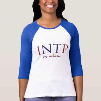 Myers-Briggs INTP; The Architect/Thinker Blue Tee
