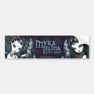Myka Jelina Fantasy Art Logo Bumper Sticker