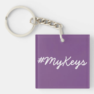 #MyKeys key chain