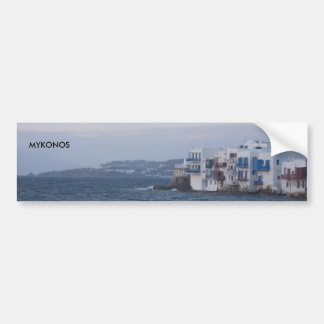 MYKONOS bumper sticker - Customized