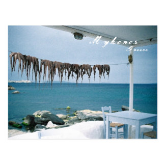 Mykonos, Greece Postcard