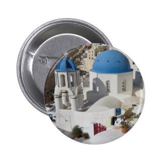 Mykonos Greece Travel 6 Cm Round Badge