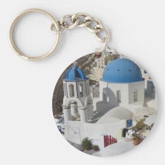 Mykonos Greece Travel Key Chains