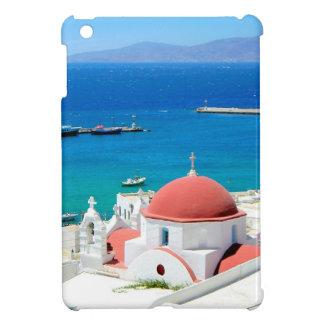 Mykonos Greek Island Hilltop Case For The iPad Mini