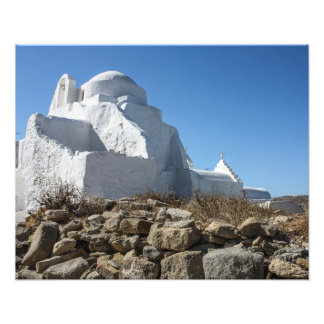 Mykonos Photos: Whitewashed Church Photo Art