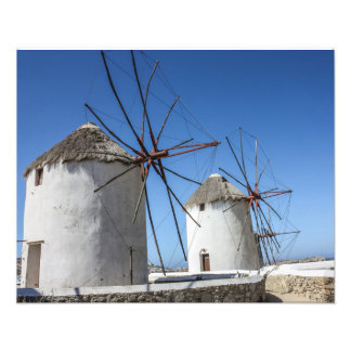 Mykonos Photos: Windmills Photo