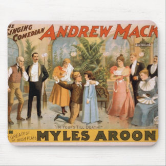 Myles Aroon Andrew Mack I m Your s till Death Mouse Pad