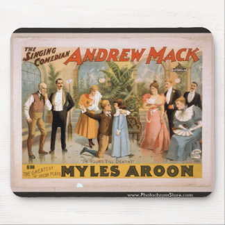 Myles Aroon Andrew Mack I m Your s till Death Mousepad