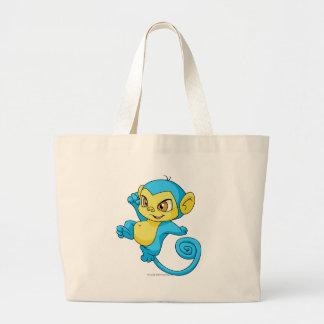 Mynci Blue Jumbo Tote Bag