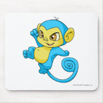 Mynci Blue mouse pads
