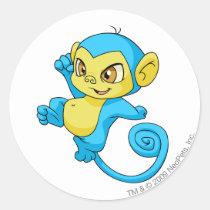 Mynci Blue stickers