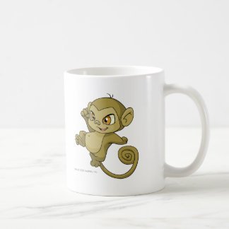 Mynci Brown Basic White Mug