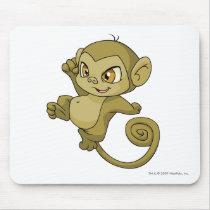 Mynci Brown mouse pads