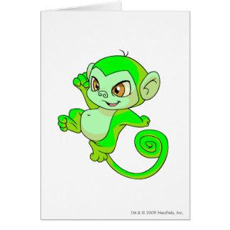 Mynci Glowing Greeting Card
