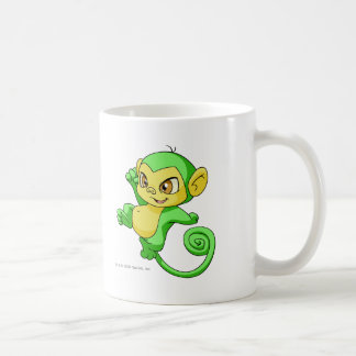 Mynci Green Basic White Mug