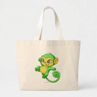 Mynci Green Jumbo Tote Bag