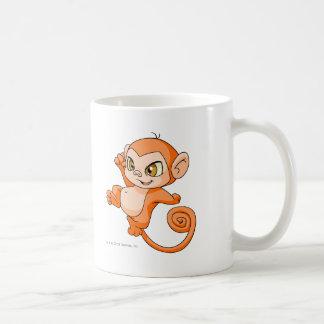 Mynci Orange Basic White Mug