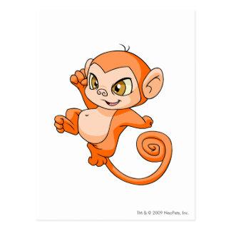 Mynci Orange Postcard