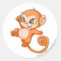 Mynci Orange stickers